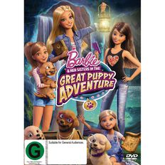 Barbie & Her Sisters In The Great Puppy Adventure DVD 1Disc