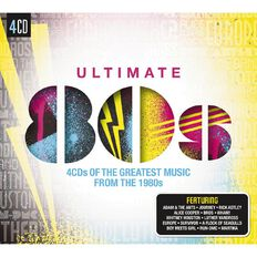 Ultimate 80s CD by Various Artists 4Disc