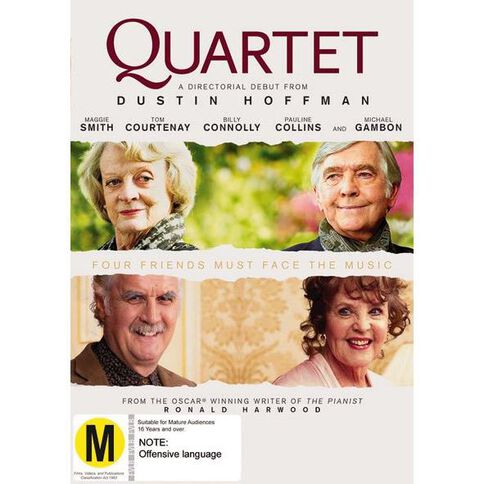 Quartet DVD 1Disc