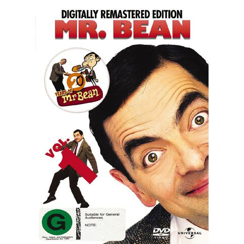 Mr Bean Vol1 Digitally DVD 1Disc