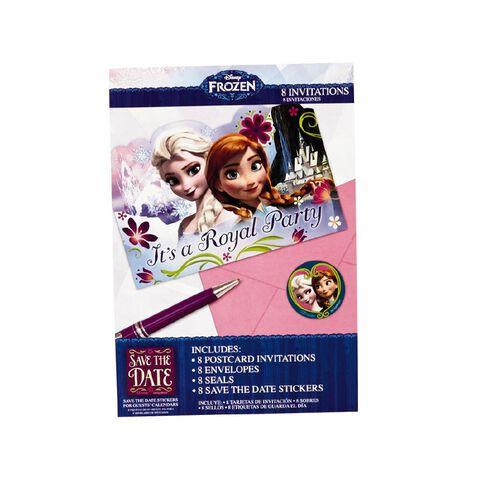 Disney Frozen Invitations 8 Pack