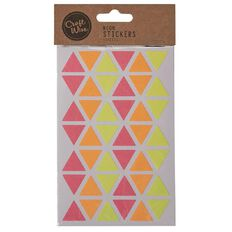 Craftwise Neon Stickers 4 Sheets