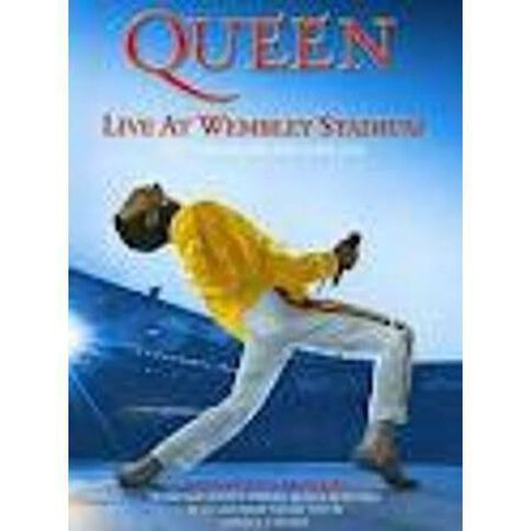 Queen Live At Wembley Stadium DVD/CD 3Disc