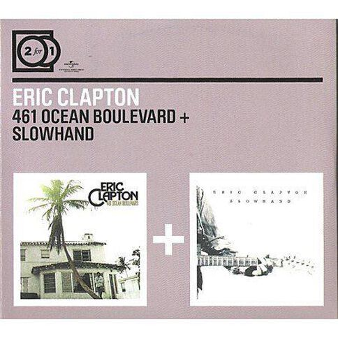 2for1 461 Ocean 461 Ocean Boulevard/Slowhand CD by Eric Clapton 2Disc
