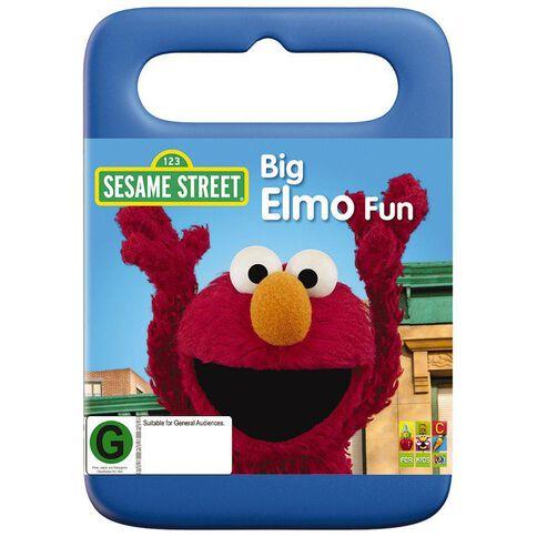 Sesame Street Big Elmo Fun DVD 1Disc