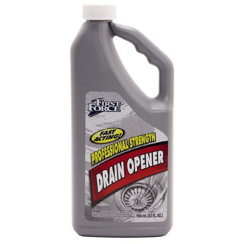 First Force Drain Opener Liquid 946ml
