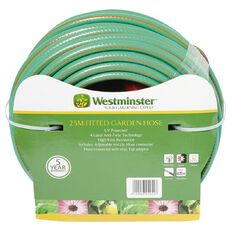 Westminster Garden Hose Reinforced Anti-Twist Fitted 25m