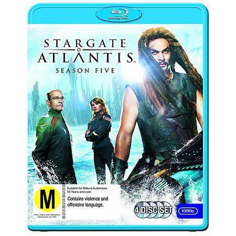 Stargate Atlantis S5 Blu-ray 4Disc