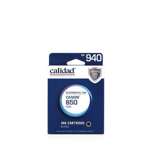 Calidad Canon Ink PGI-650 Black