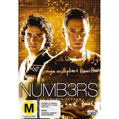 Numbers Season 4 DVD 5Disc