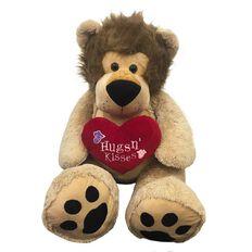 Clark Hug 'n Kiss Lion 135cm