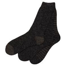 Basics Brand Men's Thermal Home Socks 3 Pack