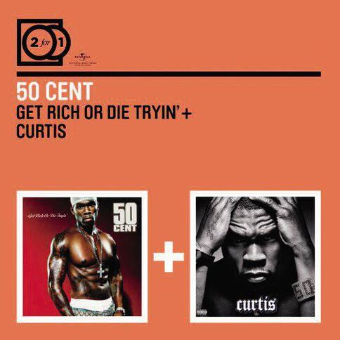 2 fo r1 Get Rich or Die Tryin/Curtis CD by 50 Cent 2Disc