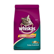 Whiskas Dry Cat Food Tuna Flavour 4kg
