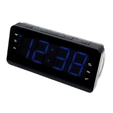 Necessities Brand Clock Radio with Large LED Display N3289