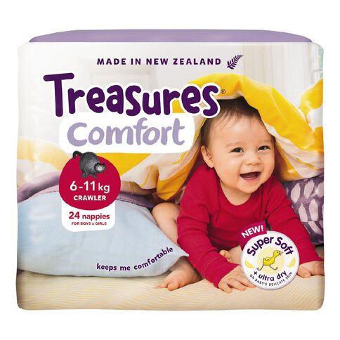 Treasures Standard Crawler 24 Pack