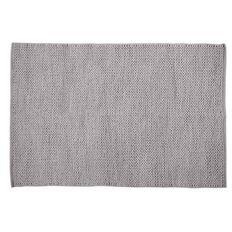 Living & Co Rug Braided Wool Light Grey 140cm x 200cm