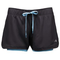 Active Intent Women's Shorts with Inner Bike Shorts