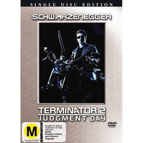 Terminator 2 DVD 1Disc