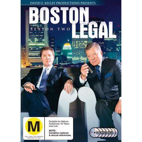 Boston Legal Season 2 DVD 7Disc
