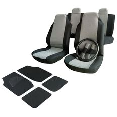 Auto FX Car Seat Cover High Back Mega Value Pack