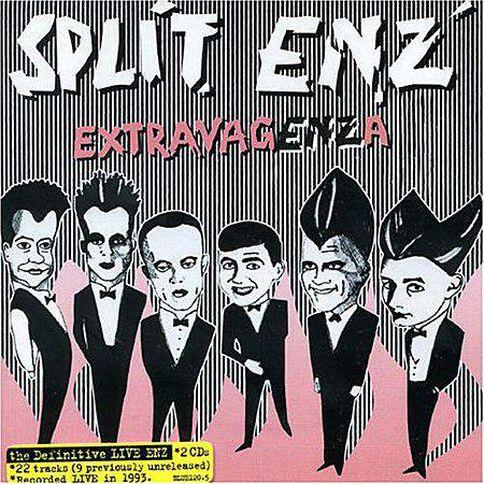 2CD Split Enz Extravaenza