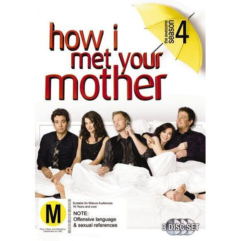 How I Met Your Mother Season 4 DVD 3Disc