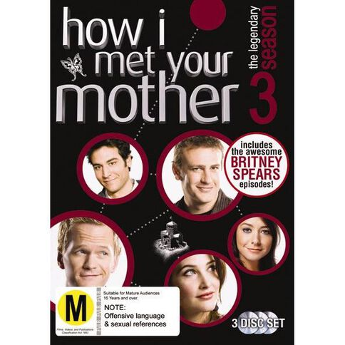 How I Met Your Mother Season 3 DVD 3Disc