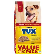 TUX Adult Original Meaty Dry Dog Food 20kg