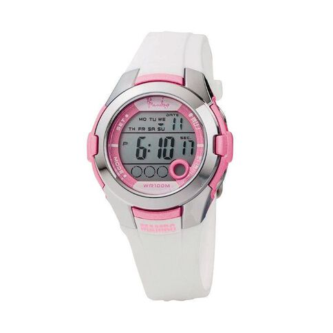 Mambo Ladies' Soul White Watch