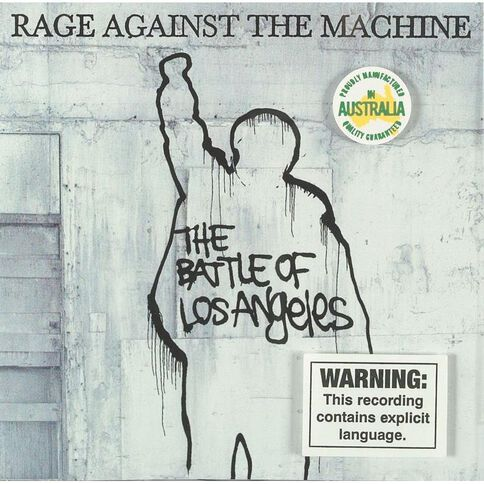 Battle of Los Angeles CD by Rage Against The Machine 1Disc