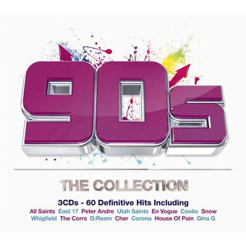 90S The Collection CD by Various Artists 3Disc
