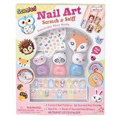 Hot Focus Nail Art Scratch & Sniff Animals