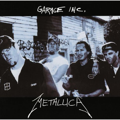 Garage Inc CD by Metallica 2Disc