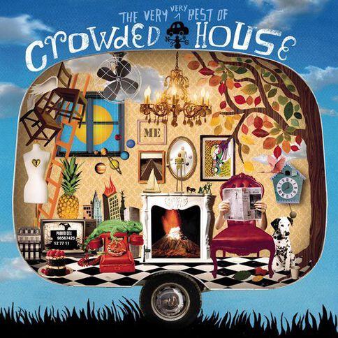 The Very Very Best of CD by Crowded House 2Disc