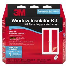 3M Indoor Window Insulator Kit Patio Door