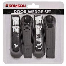 Samson Door Stop Black