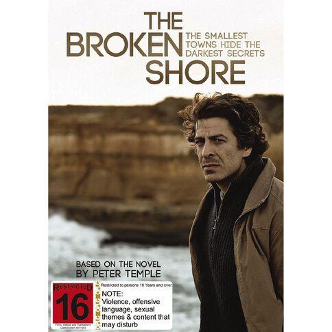 The Broken Shore DVD 1Disc