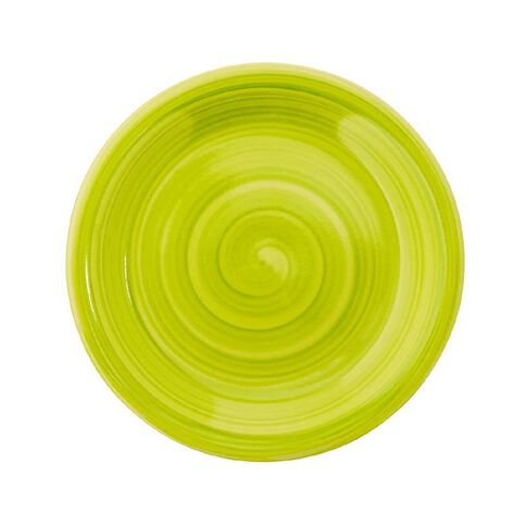Living & Co Hand Painted Side Plate Lime 7.5 inch
