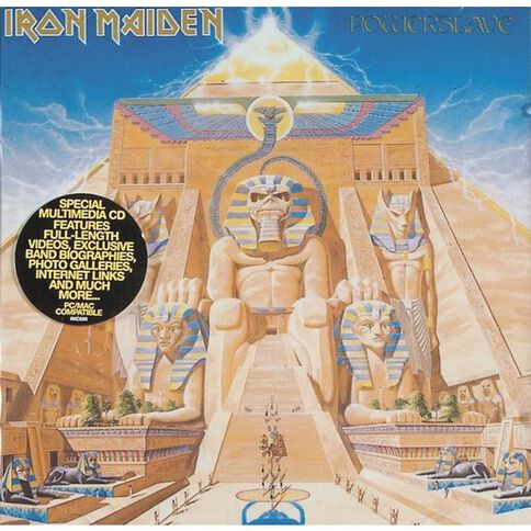 Powerslave CD by Iron Maiden 1Disc