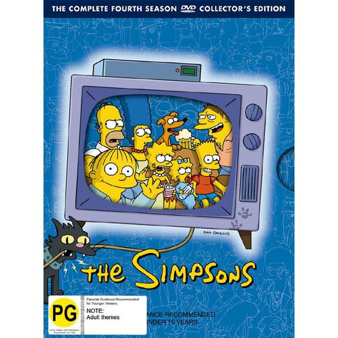 The Simpsons Season 4 DVD 4Disc