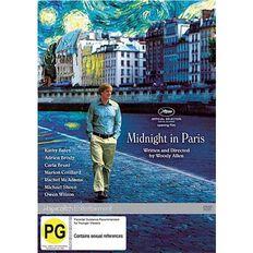 Midnight In Paris DVD 1Disc