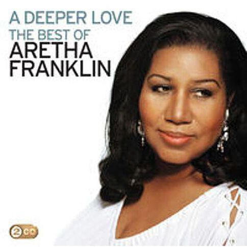A Deeper Love Best of Aretha Franklin CD by Aretha Franklin 2Disc