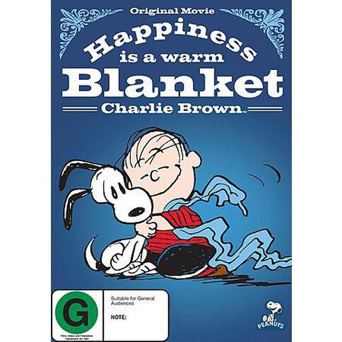 Peanuts Happiness Is A Warm Blanket DVD 1Disc