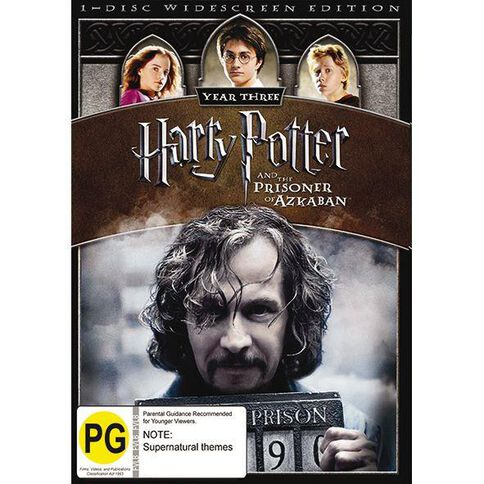 Harry Potter And The Prisoner Of Azkaban DVD 1Disc