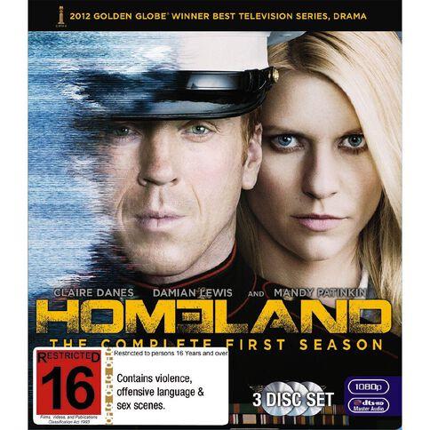 Homeland S1 Blu-ray 3Disc