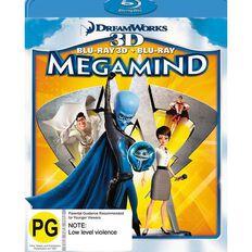 Megamind Blu-ray + 3D Blu-ray 2Disc