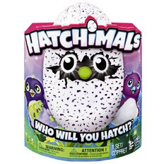 Hatchimals Draggles Light Purple or Dark Purple Assorted