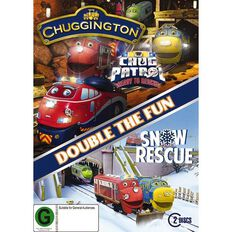 Chuggington Ready to Rescue & Snow Patrol DVD 2Disc