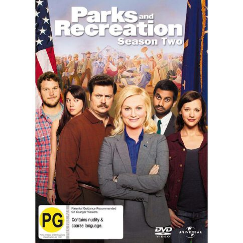 Parks And Recreation Season 2 DVD 4Disc